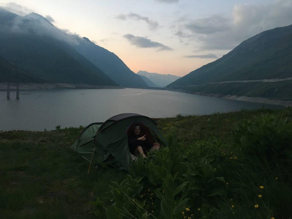 Camp spot Lai da Sontga Maria